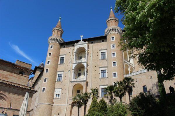 Facciata-dei-Torricini-Palazzo-Ducale-di-Urbino