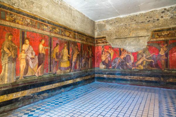 pompei fresco